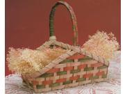 "Burgundy Hill Basket Kits-Hearth Basket 3-1/2""X8-1/2""X8"""