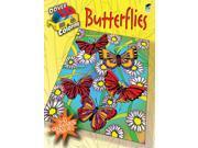 Dover Publications-Butterflies Coloring Book 3D