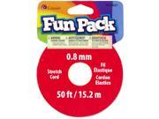 Fun Pack Stretch Cord Spool ? Yards/Pkg-? Color
