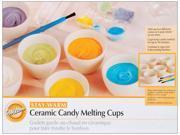 """Ceramic Candy Melting Cups & Bowls-2""""""""X1-1/2"""""""" 6/Pkg"""" 9SIA75X3EU0943"""