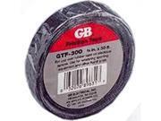 Tape Frctn 3/4In 30Ft Blk GB-GARDNER BENDER Wire Terminal Ends GTF-300 Black