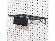 Black Circular Saw Shelf SOUTHERN IMPERIAL INC Pegboard Hooks - Store Use