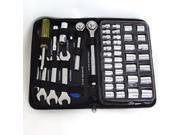 Toolbasix JL10008A Socket/Wrench Set - 51-Piece