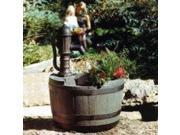 Little Giant Pump 14940294 Whiskey Barrel Fountain