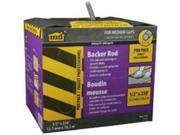 BACKER ROD PRO PACK 1/2 X 250 M-D Building Products Caulk Backer Rod 71551