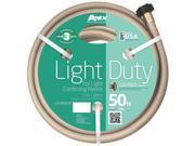 """Light Duty Garden Hose w/E-Z Tite Brass Couplings, 5/8"""" ID, 50' L Garden Hose"""