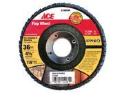"""Ali Industries Inc Flap Wheel 4-7/8""""""""X7/8"""""""" ACE Grinding Cups and Wheels 2196046"""" 9SIA14R2GS2822"""