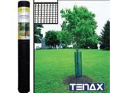 Netting Hdwr 15Ft Rl 2Ft Plstc TENAX CORP Plastic / Utility Fencing 711391 Black