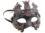 GREEK VENETIAN MASK - Spartan Warrior - MASQUERADE