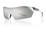 Smith Optics Pivlock V2 White Sunglasses W/Super Plantinum Lens Outdoor Sports