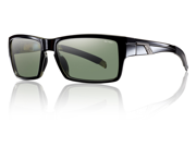 Smith Optics Outlier Black Sunglasses W/Polarized Gray Green Lens Sports 9SIV16A66V2317