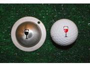New Tin Cup Golf Ball Custom Marker Alignment Tool 9SIV16A6788657