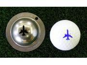 Tin Cup Let It Fly Golf Ball Custom Marker Alignment Tool