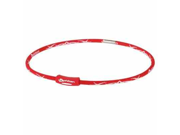 Phiten Tribal X30 Red 18 Inch Titanium Necklace