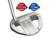 "Rife Golf Barbados Heel Shaft Stainless Putter 35"" Mallet BARB-HS-1-35R W/HC"