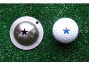 Tin Cup Lone Star Golf Ball Custom Marker Alignment Tool