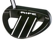 Rife Golf Barbabos Heel Shafted Black Putter 35 BARB HS 2