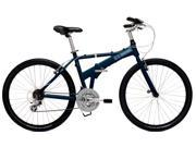 "Dahon Espresso D21 Baltic Blue Large 20"" Folding Bike Bicycle"