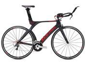 2015 Kestrel 4000 Shimano Ultegra 3055131352 Satin Carbon with Red 52.5CM Bike