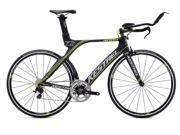 2015 Kestrel 4000 Shimano 105 3055141459 Satin Carbon with Citrus 59.5CM Bike