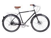 Pure Fix Bourbon Plus 5 Speed Matte Black 54CM City Bike