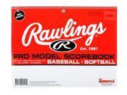 Rawlings Pro-Model Baseball Scorebook