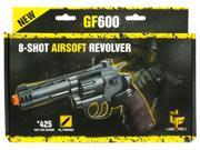 Crosman Game Face ACG357 Airsoft Revolver GF600