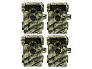4 Moultrie M-990i Digital Hunting Trail Camera 10 MP No Glow LED