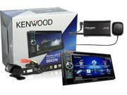 """Kenwood DDX370 7"""" Flip Out DVD Player with Bluetooth, SiriusXM Satellite Radio, and Universal Back Up Camera"""