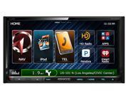 "Kenwood DNX892 6.95"" 2-Din AV Navigation System With Bluetooth/HD Radio"