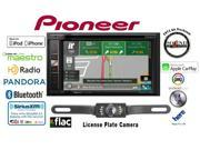 Pioneer AVIC-5100NEX DVD GPS Navigation Receiver & License Plate Backup Camera and a free SOTS air freshener