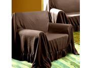 Venice Chair Throw Protector Cover 70 x 90 Chocolate