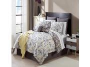 VCNY Hallton 16 Piece Comforter Set Yellow / Taupe
