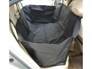 Pawhut Deluxe Pet Travel Hammock / Back Seat Cover for Dogs / Cats - Black