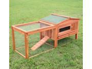 "Pawhut 64"" Outdoor Guinea Pig Pet House/Rabbit Hutch Habitat"