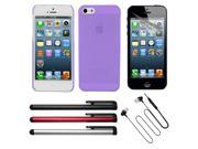 Skque Accessories kit  for Apple iphone 5 5G 5th