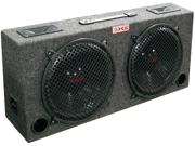 Xxx (2) Dual 12 Car Audio Subwoofer Sub Box W/ 5 Tweeters