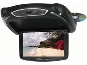 "New Tview T102dvfd 10.2"" Tft Lcd Flip Down Monitor Dvd Headphones Remote Usb Sd"