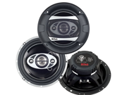 "New Pair Boss P654c 6.5"" 400W 4 Way Phantom Series Car Audio Speakers 6 1/2"""