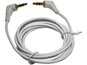NEW AUDIOPIPE IP35356 3.5mm MALE TO 3.5mm MALE 6' AUDIO CABLE