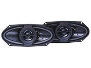 "New Kenwood Pair Kfc-415C 4""X10"" 2-Way 320W Coaxial Speaker"