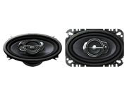"New Pioneer Ts-A4675r 200 Watts 4"" X 6"" 3-Way Coaxial Car Audio Speakers 4X6"""