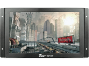 """New Tview Trp1177 11"""" Widescreen Tft Lcd Monitor With Universal Mount & Remote"""