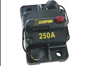 NEW XSCORPION CB250A 250 AMP MANUAL RESET CIRUIT BREAKER