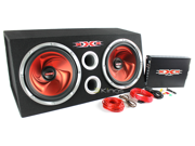 """NEW XXX DUAL 12"""" SUBWOOFER PACKAGE WITH SUBS AMPLIFIER AMP-KIT BOX XBS XBX1200"""