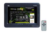 "TVIEW 7"" LCD TFT Headrest Car Audio Monitor TV w IR"