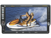 Lanzar - 7'' TFT Touch Screen DVD/VCD/CD/MP3/CD-R/USB/AM/FM/RDS Receiver with Bluetooth System