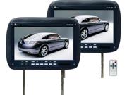 "New Pair Tview T110plbk 11.2"" Black Car Headrest Widescreen Car Screen T110pl"