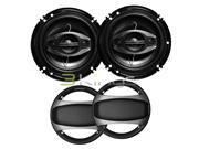 "New Pair Nippon Dsa1683s 6.5"" 4 Way 350W Car Audio Speakers 6 1/2"" Ds-A1683s"