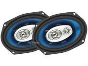 "New Pair Soundstorm F369 6X9"" 3 Way 400W Car Audio Speakers 400 Watt"